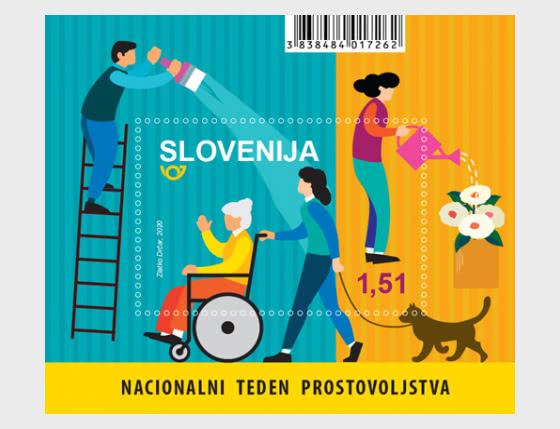 National Volunteer Week - Miniature Sheet