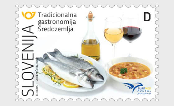 Euromed Postal – Traditional Gastronomy of the Mediterranean - Set