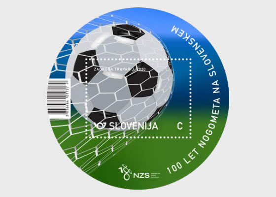 100 Years of Football in Slovenia - Miniature Sheet
