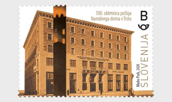 Centenary of the Burning of the Narodni Dom in Trieste - Set