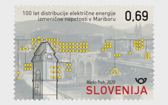 Centenaire De La Fourniture D'électricité En Courant Alternatif À Maribor - Séries