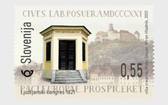 200th Anniversary of the Congress of Laibach - Set