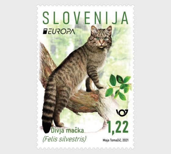 欧罗巴2021年-濒临灭绝的国家野生动物 - 套票