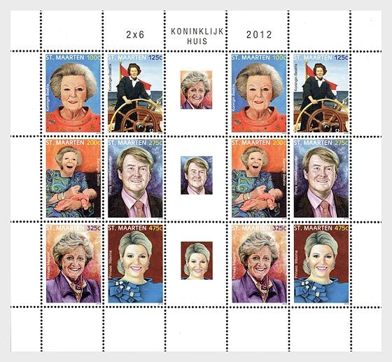 Royalty 2012 - Sheetlets