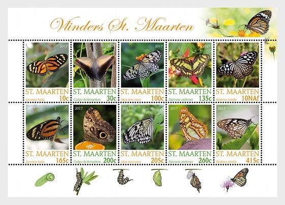 Butterflies 2017 - Sheetlets