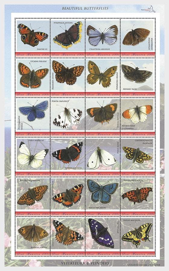 Beautiful Butterflies - Sheetlets