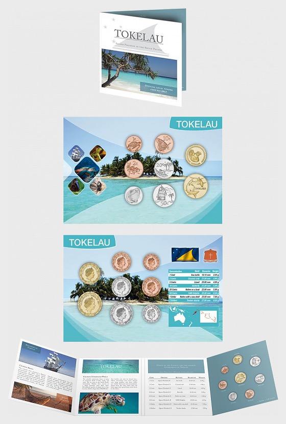 Tokelau Coin Set 2017 - Coin Card