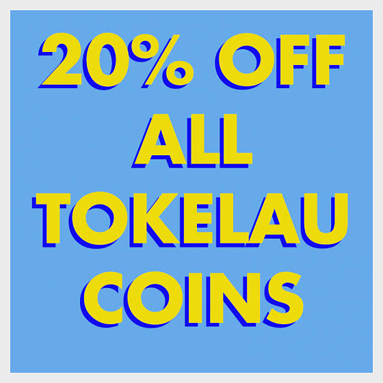 20% Discount on ALL Tokelau products! - BLACK FRIDAY OFFER - Commemorative