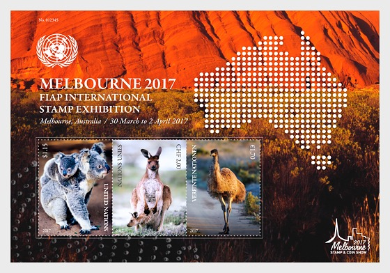 Melbourne 2017 FIAP International Stamp Exhibition- (M/S Mint) - Miniature Sheet