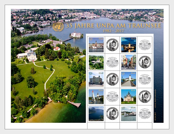 35 Years UNPA at the Traunsee (1982 – 2017) - Sheetlets CTO