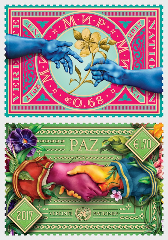 2017 International Day of Peace - (Vienna) - (Set Mint) - Set