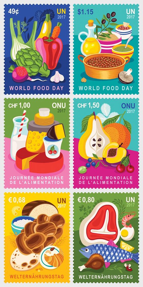 2017 World Food Day - (3 Offices) - (Set CTO) - Set CTO