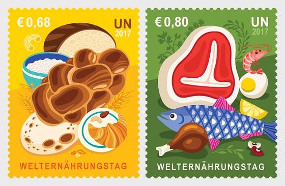 2017 World Food Day - (Vienna) - (Set Mint) - Set
