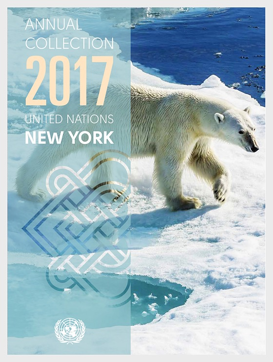 Annual Collection Folder 2017 - (New York) - (CTO Condition) - Year Pack CTO