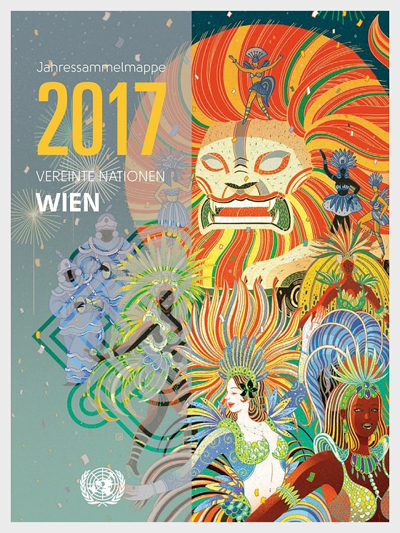 Annual Collection Folder 2017 - (Vienna) - (CTO Condition) - Year Pack CTO