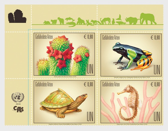 (Vienna) - 2018 Endangered Species - (Set Mint) - Set