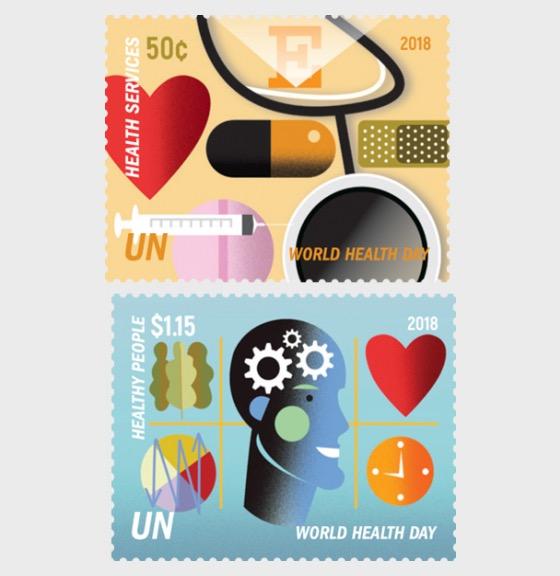(New York) - 2018 World Health Day - (Set Mint) - Set