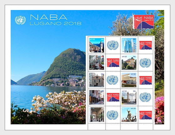 Lugano 2018 - Mint - Sheetlets