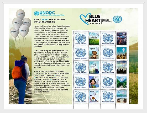 Human Trafficking - Sheetlet Mint - Sheetlets