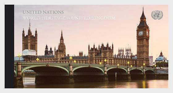 (New York) - 2018 WORLD HERITAGE – United Kingdom - Stamp Booklet