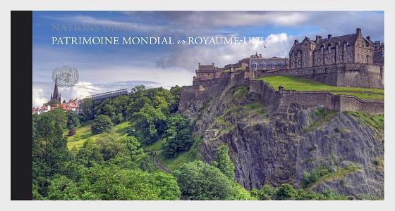 (Geneva) - 2018 WORLD HERITAGE – United Kingdom - Stamp Booklet