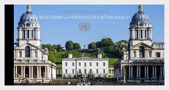 (Vienna) - 2018 WORLD HERITAGE – United Kingdom - Stamp Booklet
