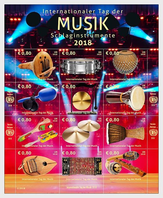 (Vienna) - International Music Day 2018 - (M/S Mint) - Miniature Sheet