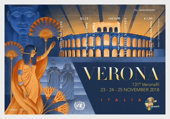 Verona 2018 Special Event - Miniature Sheet