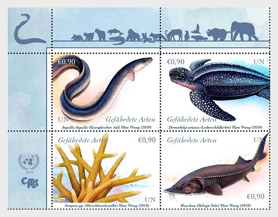 (Viena) - Especies en Peligro de Extinción 2019 - Series