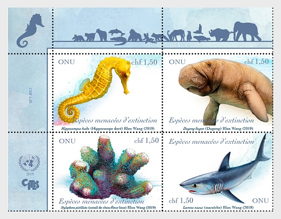 (Geneva) - Endangered Species 2019 - Set Mint - Set