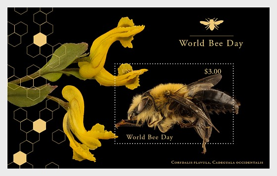 (New York) - World Bee Day - M/S Mint - Miniature Sheet