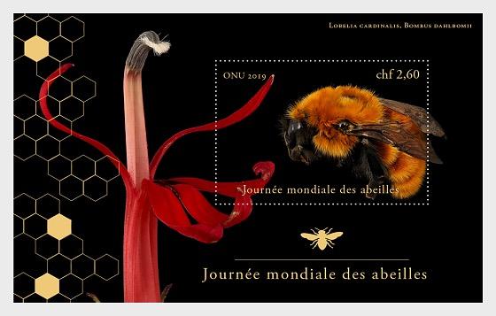 (Geneva) - World Bee Day - M/S Mint - Miniature Sheet