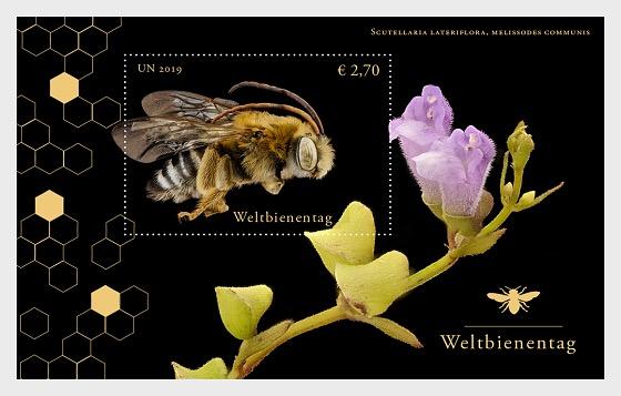 (Vienna) - World Bee Day - M/S Mint - Miniature Sheet
