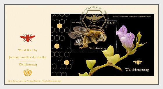 (Vienna) - World Bee Day - First Day Cover