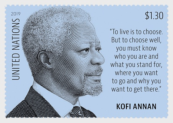 Kofi Annan New York Definitive - Set Mint - Set