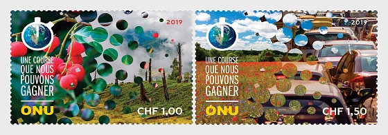 (Geneva) - Climate Change 2019 - Set Mint - Set
