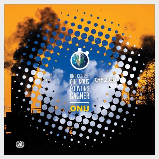 (Geneva) - Climate Change 2019 - M/S Mint - Miniature Sheet