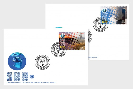(Vienna) - Climate Change 2019 - FDC Single Stamp - First Day Cover single stamp