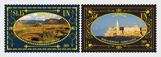 (New York) - 2019 World Heritage, Cuba - Set Mint - Set