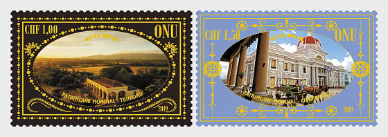 (Geneva) - 2019 World Heritage, Cuba - Set Mint - Set