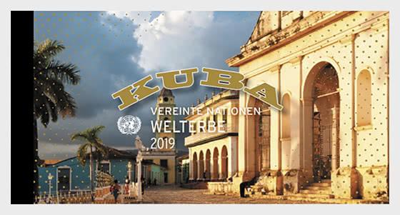 (Vienna) - 2019 Patrimonio Mondiale, Cuba - Libretto