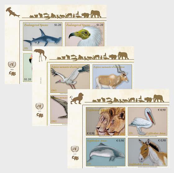 (3 Offices) - Endangered Species 2020 - Set CTO - Set CTO