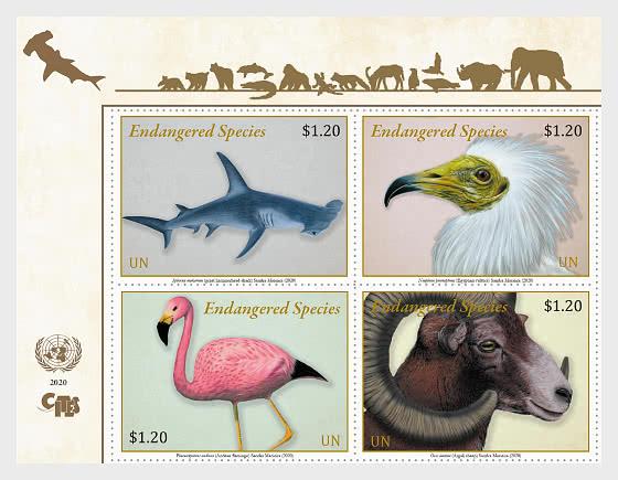 (New York) - Endangered Species 2020 - Set Mint - Set