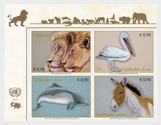 (Vienna) - Endangered Species 2020 - Set Mint - Set