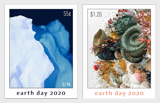 (New York) - Earth Day 2020 - Set Mint  - Set