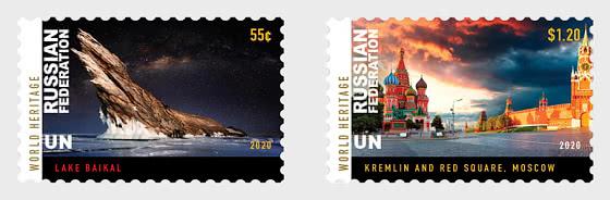 (New York) Patrimoine mondial 2020 - Fédération de Russie - Séries