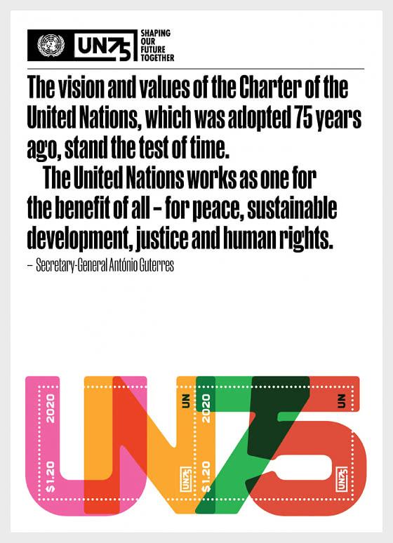 (New York) UN75 - Blocs feuillets