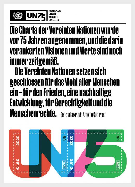 (Vienne) - UN75 - Blocs feuillets