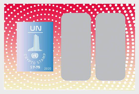 (New York) Timbres Cryptographiques UN - Blocs feuillets