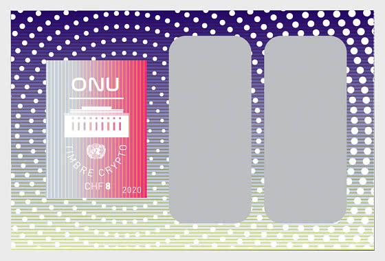 (Ginevra) Francobolli Crittografici delle Nazioni Unite - Foglietti